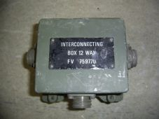 Interconnecting box.IB12 way.